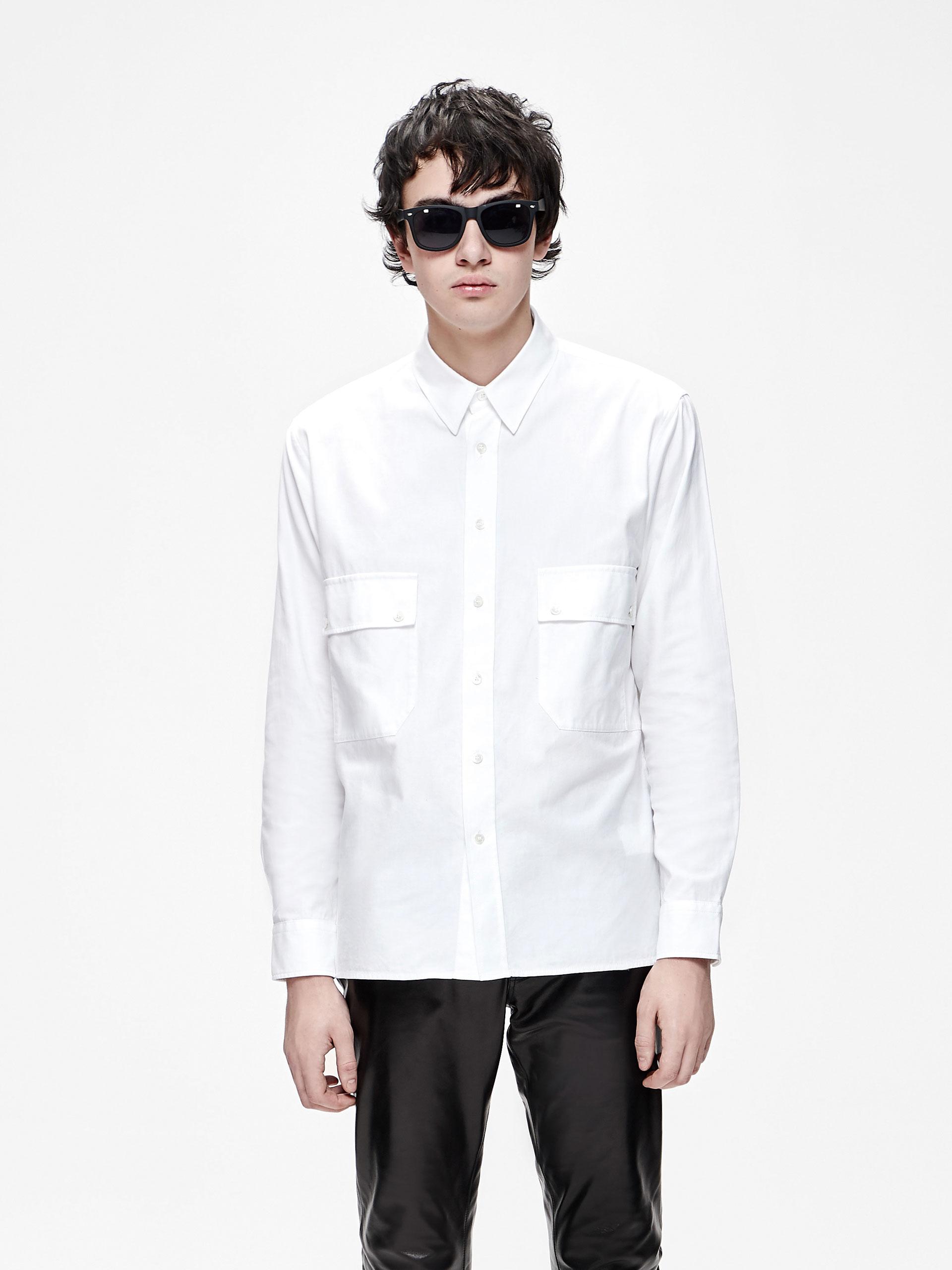 四口袋衬衫