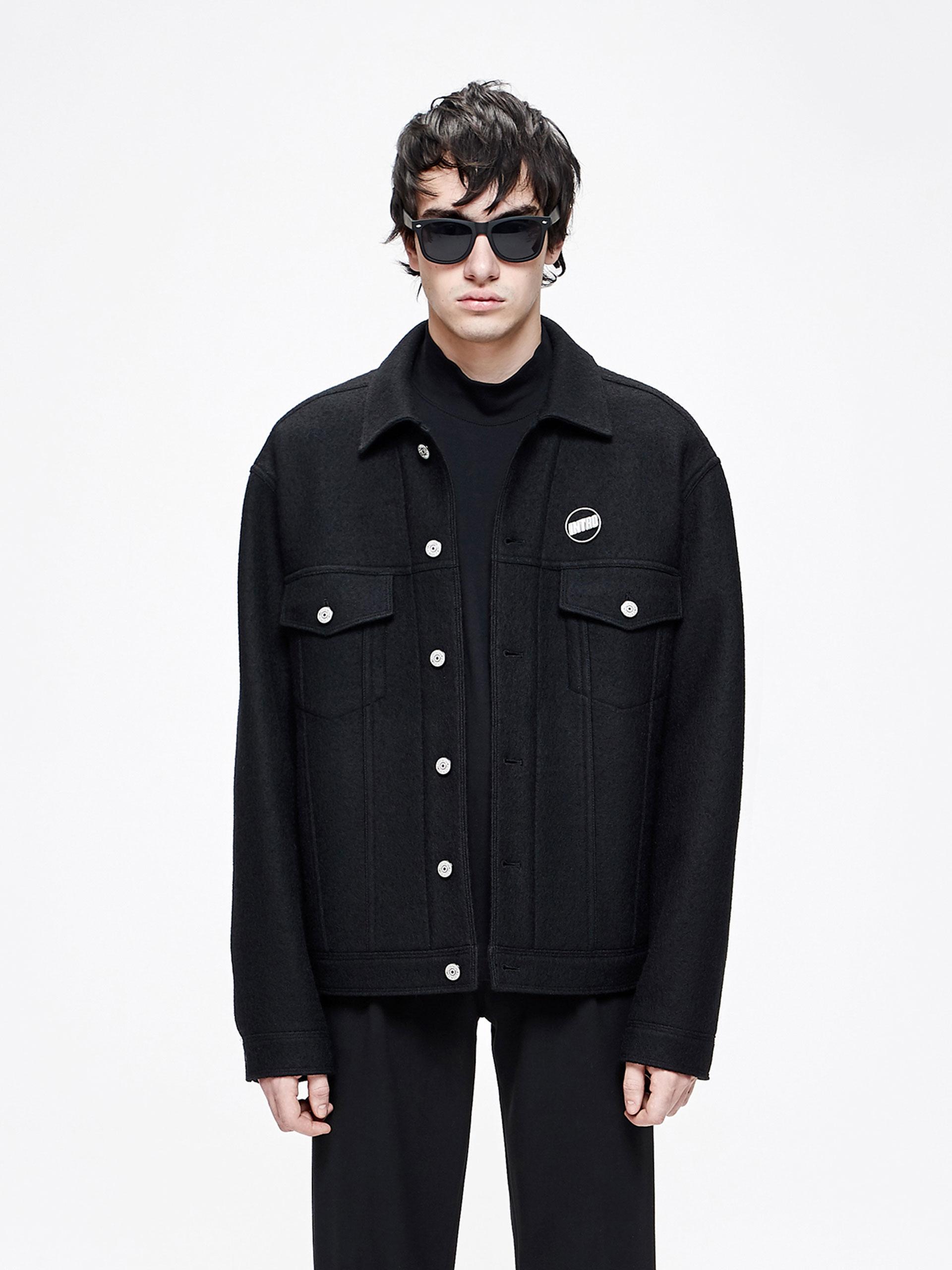 男装短款夹克