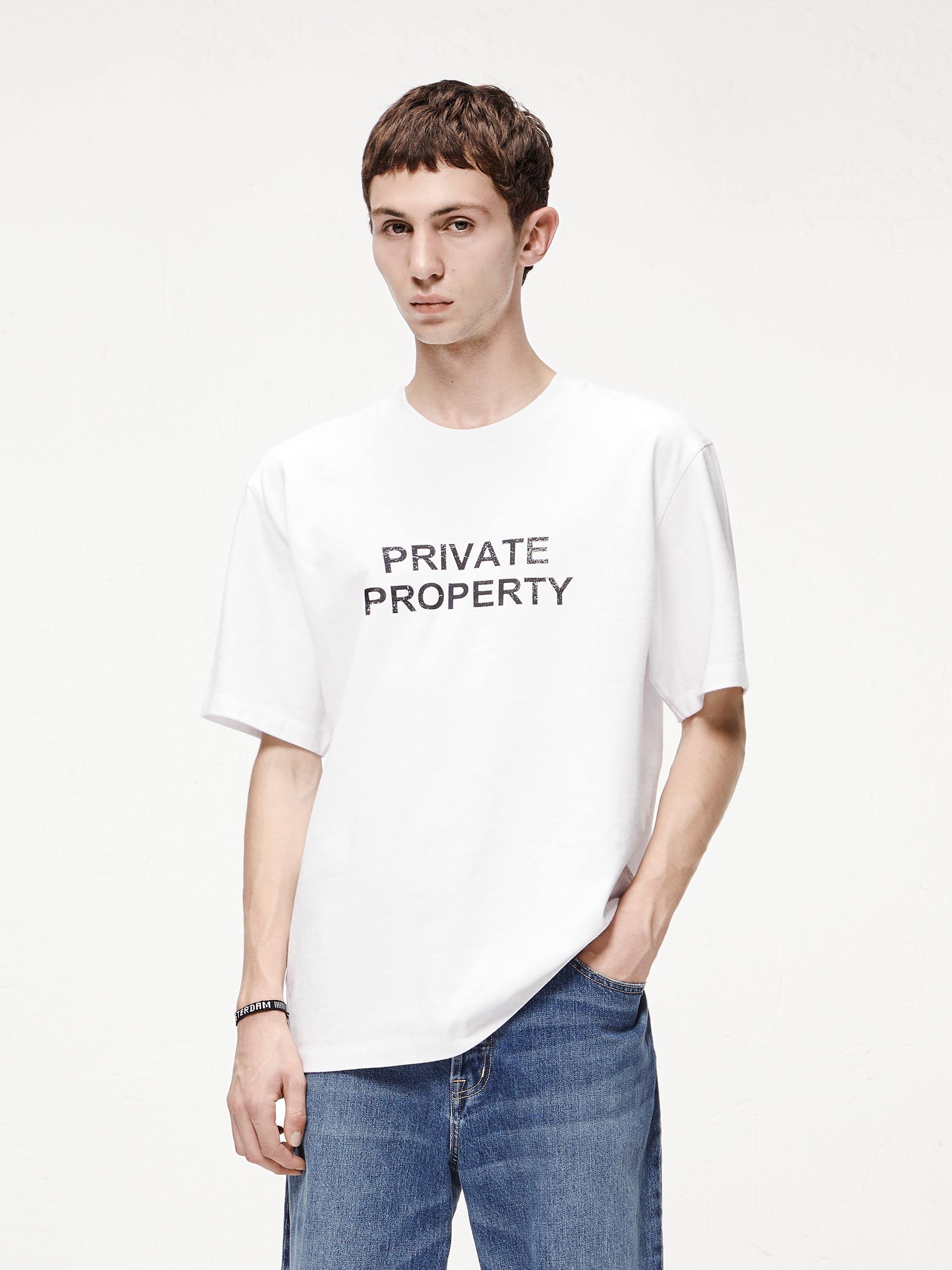 宽松印花T恤