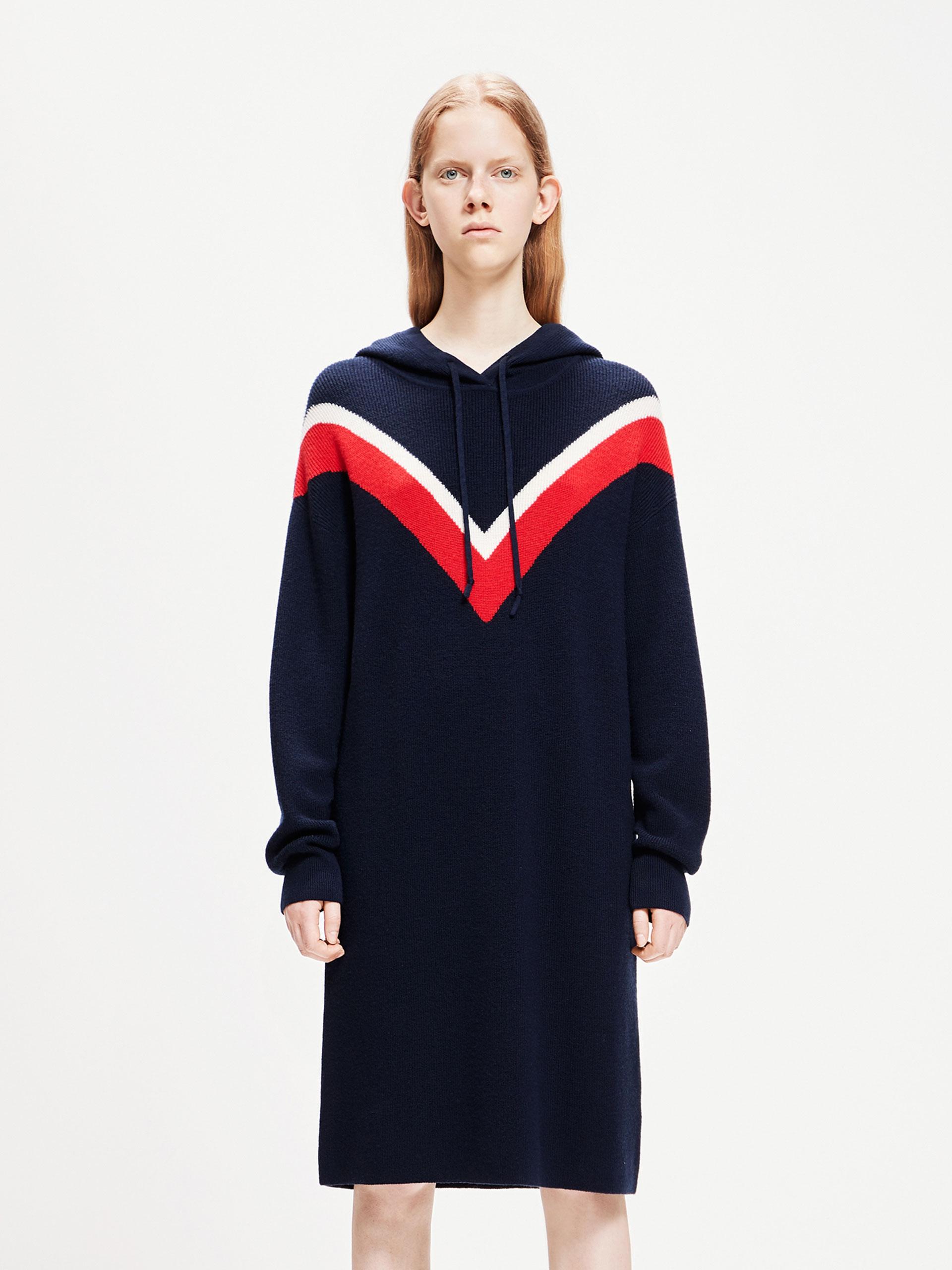 「春季新品」羊毛连衣裙
