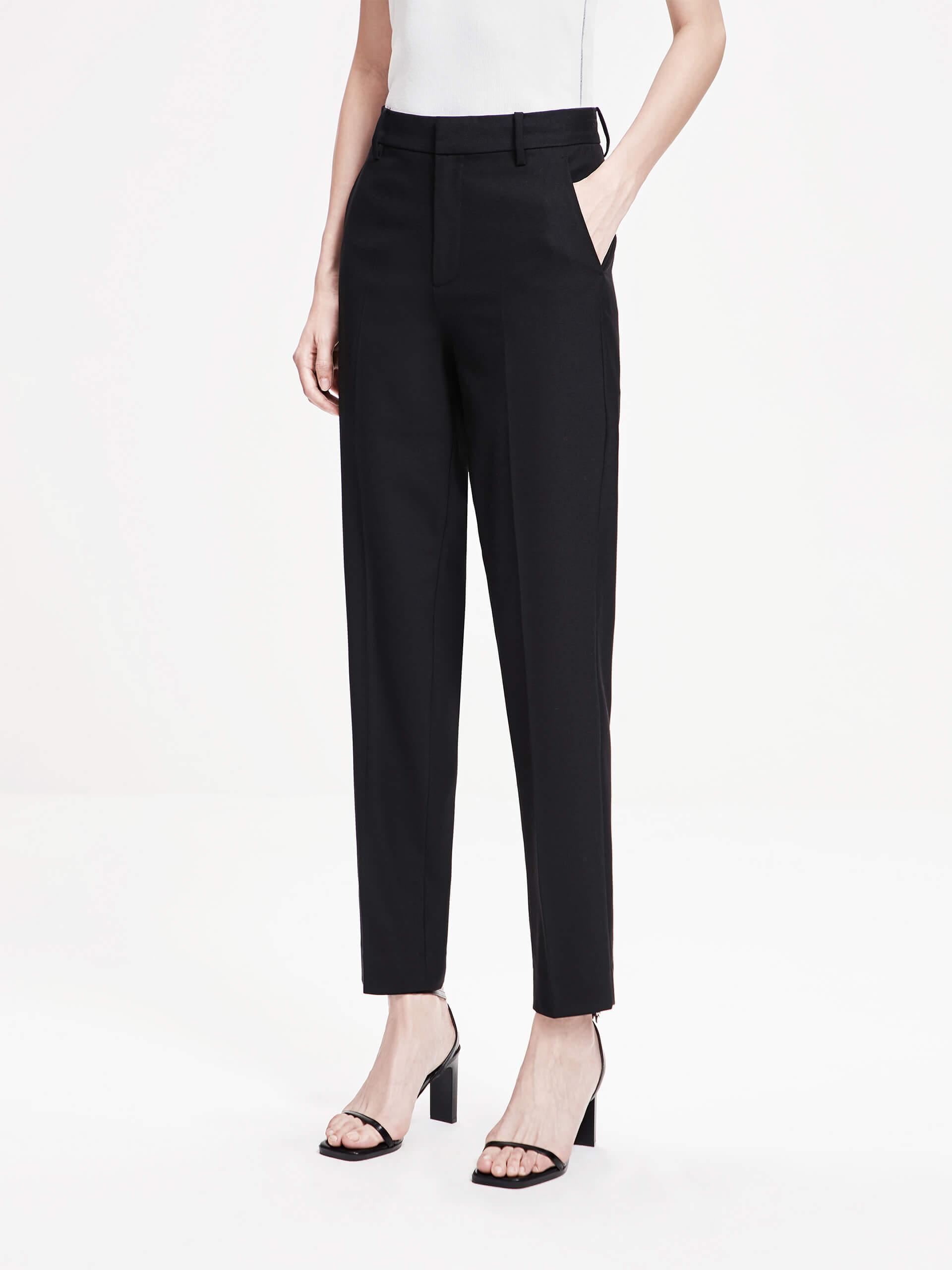 「春季新品」黑色优雅简约西裤