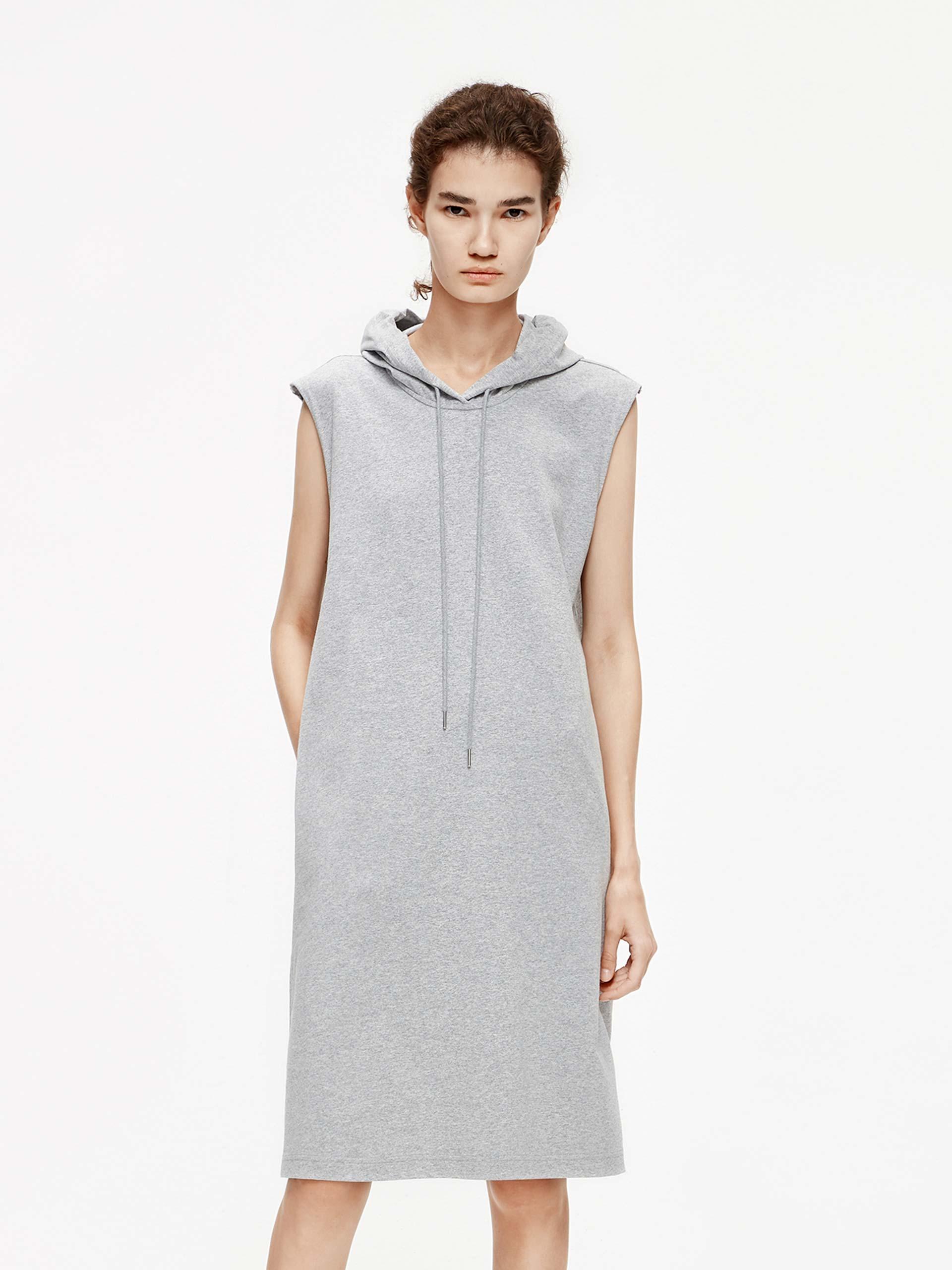 「夏季新品」个性无袖连衣裙