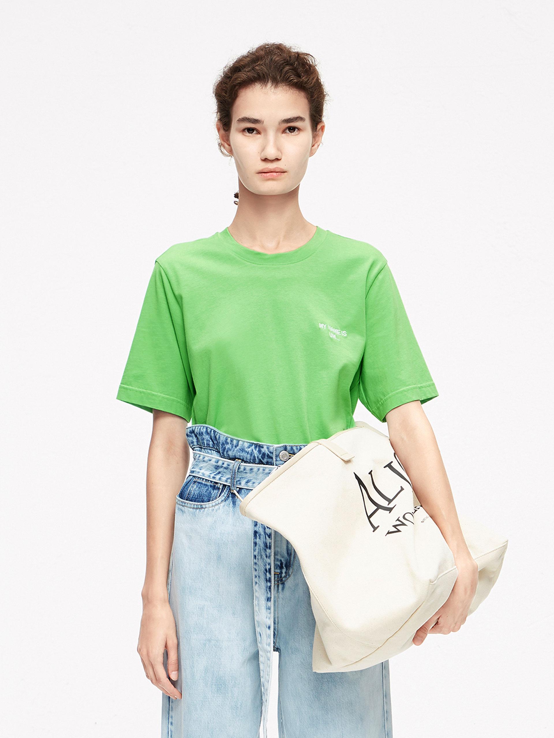 「夏季新品」不规则T恤
