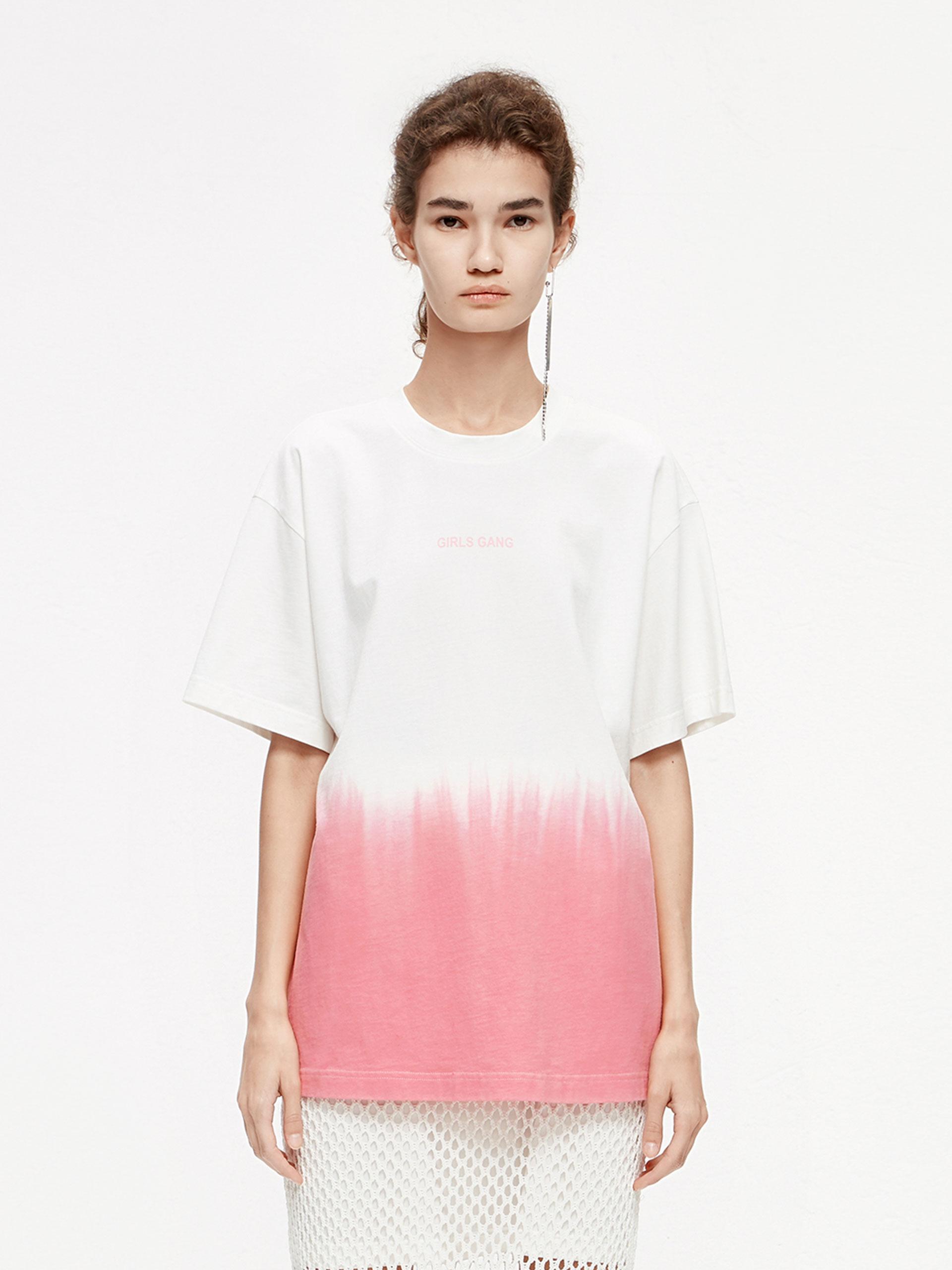 「夏季新品」撞色纯棉T恤